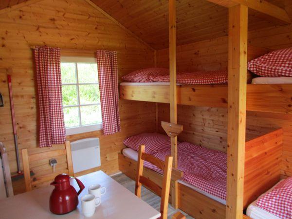 Wohnraum in den Hütten