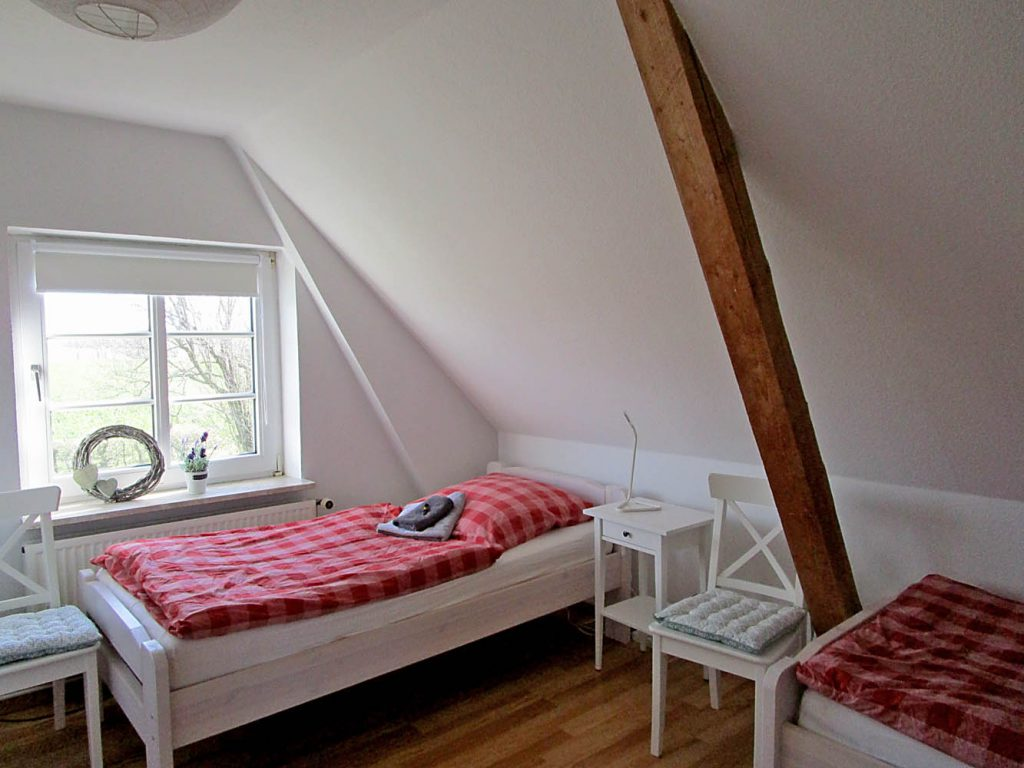 Ferienwohung Lindekjer Schlafzimmer 1
